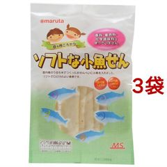 MS ソフトな小魚せん (2枚入*7袋入*3コセット)