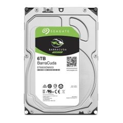 Seagate Guardian Barracudaシリーズ 3.5インチ内蔵HDD 6TB SATA 6.0Gb/s 256MB ST6000DM003