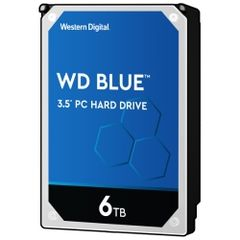 WESTERN DIGITAL WD Blueシリーズ 3.5インチ内蔵HDD 6TB SATA3(6Gb/s) 5400rpm 256MB WD60EZAZ-RT 0718037-855684