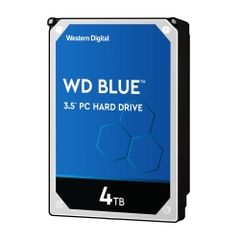 WESTERN DIGITAL WD Blueシリーズ 3.5インチ内蔵HDD 4TB SATA3(6Gb/s) 5400rpm 64MB WD40EZRZ-RT2 4988755-034838