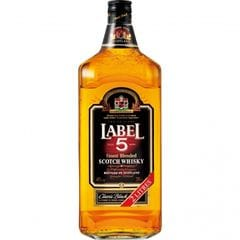 【単品】Label 5 2000ml 40度