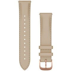ガーミン ベルト交換キット 20mm(Light Sand Italian Leather/18K Rose Gold PVD) GARMIN Quick Release バンド 010-12924-61 【返品種別A】