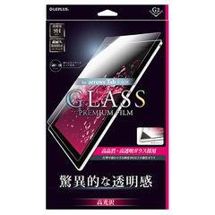 MS Products arrows Tab F-02K用 ガラスフィルム 高光沢/[G2] LEPLUS(ルプラス)「GLASS PREMIUM FILM」 LP-F02KFGC 【返品種別A】
