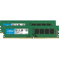 Crucial PC4-21300 (DDR4-2666)288pin DDR4 UDIMM 16GB(8GB×2枚) CT2K8G4DFS8266_2003 【返品種別B】
