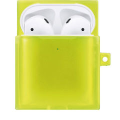 アピロス AirPodsケース(イエロー)《TILE neon YELLOW for AirPods》 EYLE XEA01-TL-B02 【返品種別A】