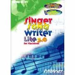 Singer Song Writer Lite 3.0 for Macintosh インターネット 【返品種別B】