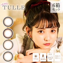 em TULLE エンチュール 6箱(1箱10枚入り)