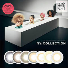 N's COLLECTION エヌズコレクション ワンデー 4箱 (1箱10枚入り)