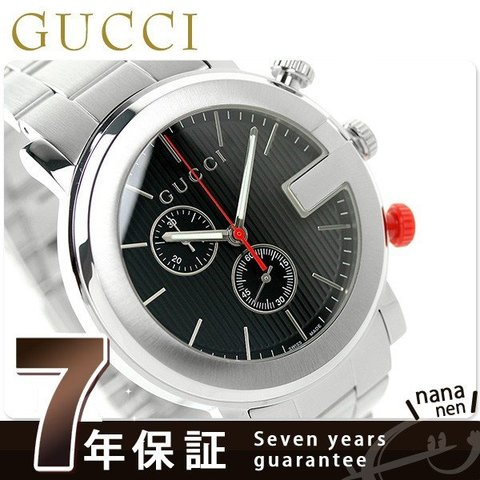 more photos b7c1a f4a68 dショッピング |グッチ 時計 メンズ GUCCI 腕時計 クロノグラフ ...