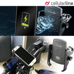 Cellular LineMOTO CRAB WIRELESS ワイヤレス充電対応スマホホルダー SMMOTOWIRELESS iPhone対応