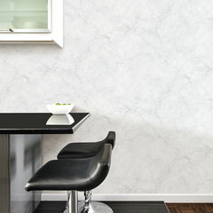 貼ってはがせるシール壁紙 Nu Wallpaper Carrara Marble Peel and Stick Wallpaper / NU2090