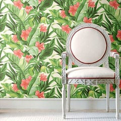 貼ってはがせるシール壁紙 Nu Wallpaper Tropical Paradise Peel and Stick Wallpaper / NU2926