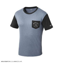 Oakley(オークリー) RASH POCKET TEE 482395JP Denim Heather XL