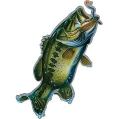 Rivers Edge Products (リバース エッジ) Bass Car Magnet