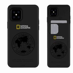 【National Geographic】[公式ライセンス品]iPhone12 Pro Max Global Seal Card Slide Case 背面カバー型 スマホケース[▲][R]