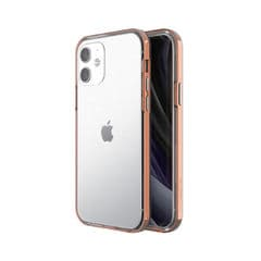 【motomo】iPhone12 mini INO Achrome Shield Case Chrome rosegold 背面カバー型 スマホケース[▲][R]