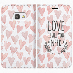 GALAXY Feel SC-04J 手帳型 LOVE IS ALL YOU NEED 1 4549712064680 [▲][G]