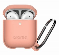 【araree(アラリー)】AirPods アクセサリー AirPods Case POPS <Wireless Charging Case専用> フラミンゴピンク[▲][R]