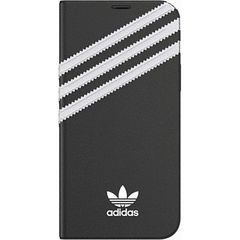 iPhone 12 Pro iPhone 12 共通 アディダス Booklet Case SAMBA FW20 black white ケース カバー スマホ[▲][G]
