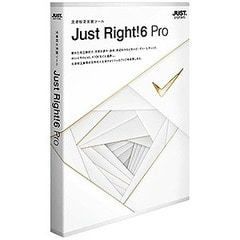 justsystems 〔Win版〕Just Right!6 Pro 通常版 JUST RIGHT!6 PRO ツウシ