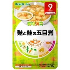 BSスノー 麩と鮭の五目煮 フトサケノゴモクニ(80g