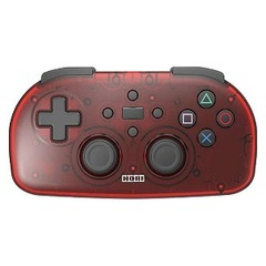 HORI ワイヤレスコントローラーライト for PlayStation4 クリアレッド PS4-134