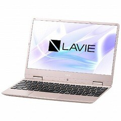 NEC 12.5型ノートパソコン LAVIE Note Mobile  [2019年春モデル] PC-NM150MAG メタリックピンク
