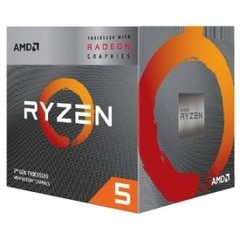 AMD AMD Ryzen 5 3400G With Wraith Spire cooler YD3400C5FHBOX