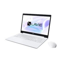 NEC 15.6型ノートパソコン LAVIE Note Standard(NS300/NAシリーズ) PC-NS300NAW カームホワイト