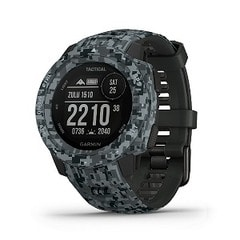 ガーミン INSTINCT Tactical Camo Graphite GARMIN 010-02064-C2