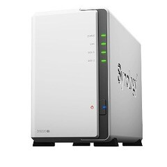 SYNOLOGY NASキット[ストレージ無 /2ベイ] DiskStation DS220j