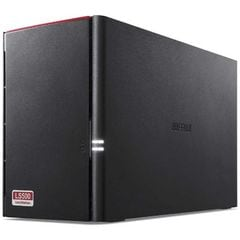 BUFFALO ネットワークHDD 4TB[有線LAN/USB・Android/iOS/Mac/Win] LS520DN0402B