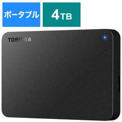 BUFFALO USB3 0対応ポータブルHDD 東芝製 Canvio BASIC 4 0TB HD-TPA4U3-B ブラック