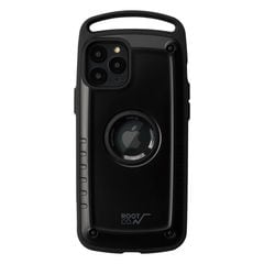 [iPhone 11 Pro専用]ROOT CO. Gravity Shock Resist Case Pro. (ブラック/マット)