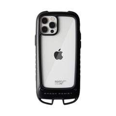 [iPhone 12/12 Pro専用]ROOT CO. GRAVITY Shock Resist Case +Hold.(ブラック)