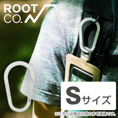 ROOT CO. Gravity Carabiner / Alumi (S)【カラビナ】