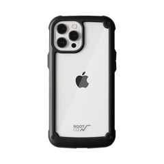 [iPhone 12 Pro Max専用]ROOT CO. GRAVITY Shock Resist Tough & Basic Case.(ブラック)