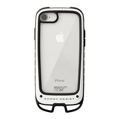[iPhone 8/7専用]ROOT CO. Gravity Shock Resist Case +Hold. (ホワイト)