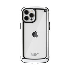 [iPhone 12 Pro Max専用]ROOT CO. GRAVITY Shock Resist Tough & Basic Case.(ホワイト)