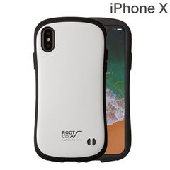 [iPhone XS/X専用]ROOT CO. Gravity Shock Resist Case. /ROOT CO.×iFace Model (ホワイト)
