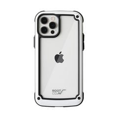 [iPhone 12/12 Pro専用]ROOT CO. GRAVITY Shock Resist Tough & Basic Case.(ホワイト)