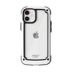 [iPhone 12 mini専用]ROOT CO. GRAVITY Shock Resist Tough & Basic Case. (ホワイト)