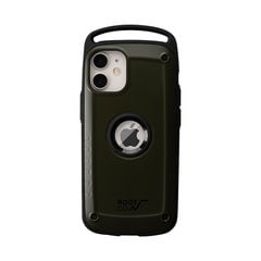 [iPhone 12 mini専用]ROOT CO. GRAVITY Shock Resist Case Pro. (カーキ/マット)
