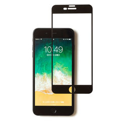 [iPhone 8 Plus/7 Plus専用]ROOT CO. GRAVITY Tempered Glass Film (ブラック)
