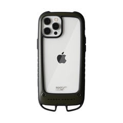 [iPhone 12 Pro Max専用]ROOT CO. GRAVITY Shock Resist Case +Hold.(カーキ)