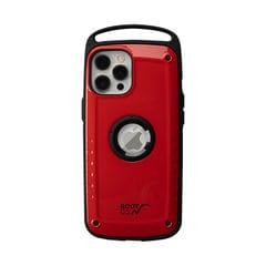 [iPhone 12 Pro Max専用]ROOT CO. GRAVITY Shock Resist Case Pro. (レッド)