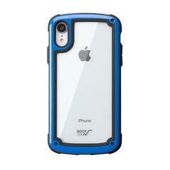 [iPhone XR専用]ROOT CO. Gravity Shock Resist Tough & Basic Case. (ブルー)