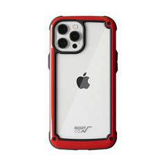 [iPhone 12 Pro Max専用]ROOT CO. GRAVITY Shock Resist Tough & Basic Case.(レッド)