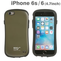 [iPhone 6s/6専用]ROOT CO. Gravity Shock Resist Case. /ROOT CO.×iFace Model /iPhone6/s (カーキ)