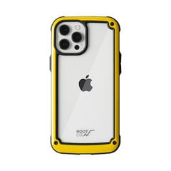 [iPhone 12 Pro Max専用]ROOT CO. GRAVITY Shock Resist Tough & Basic Case.(イエロー)